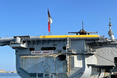 French aircraft carrier 'Charles de Gaulle' to Rest at Greek Cyprus